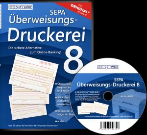 SEPA Überweisungs-Druckerei 8